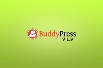 BuddyPress 1.9