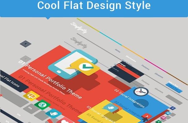 Flat WordPress Themes