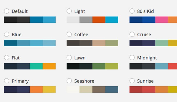 Free WordPress Admin Color Scheme Plugins