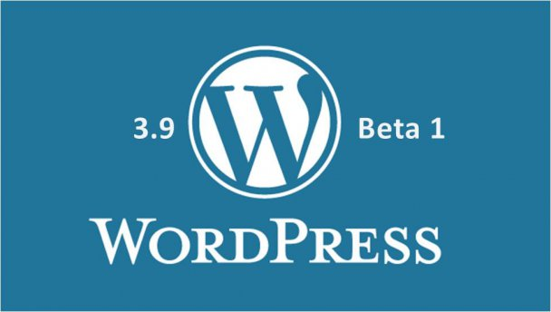 WordPress 3.9 Beta 1