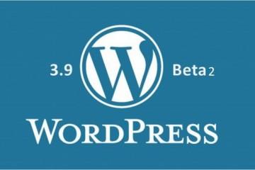 WordPress-3.9-Beta-2