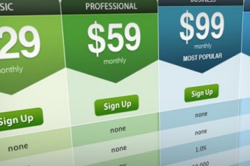 WordPress pricing table plugins
