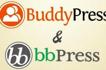 bbpress and buddypress