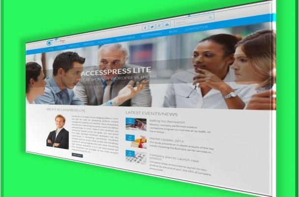 Accesspress free theme