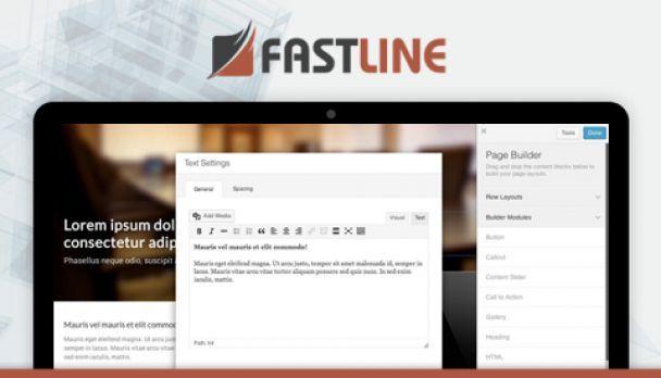 FastLine Page Builder