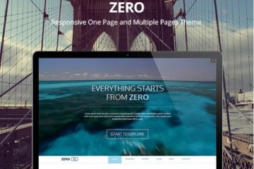 Zero Multipurpose Theme