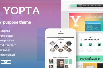 Yopta Theme Review
