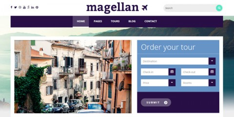 Magellan Travel Theme Review