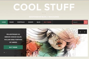 CoolStuff Theme Review