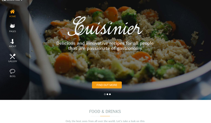 Cuisinier Theme Review