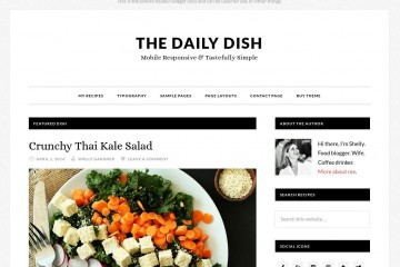 Daily Dish Theme Review