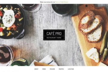 Cafe Pro Theme review