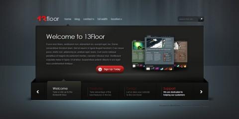13floor Theme Review