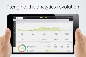 Ptengine: web analytics tool