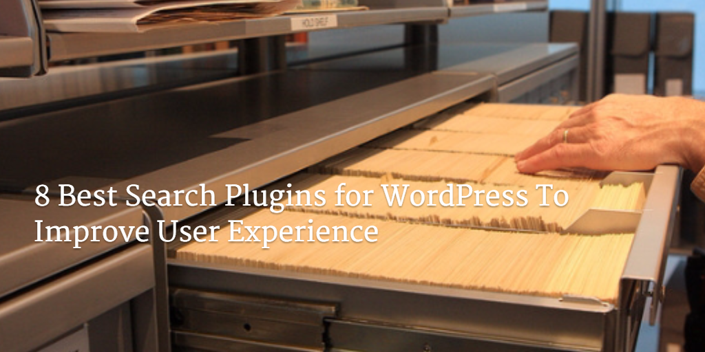 best search plugins for WordPress