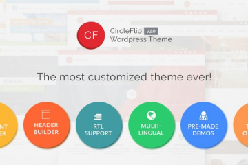 CircleFlip Wordpress Theme