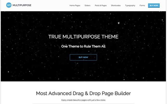 True Multipurpose Theme