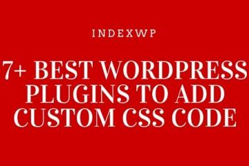 WordPress Plugins To Add Custom CSS Code