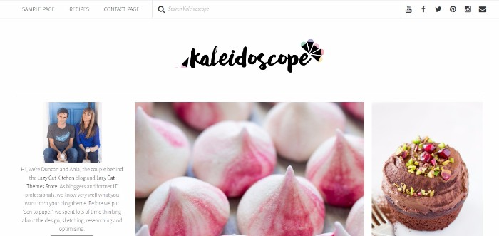 1-kaleidoscope-a-stunning-pinterest-inspired-modern-food-and-lifestyle-theme-clipular