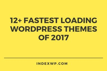 12+ Fastest loading wordpress themes of 2017